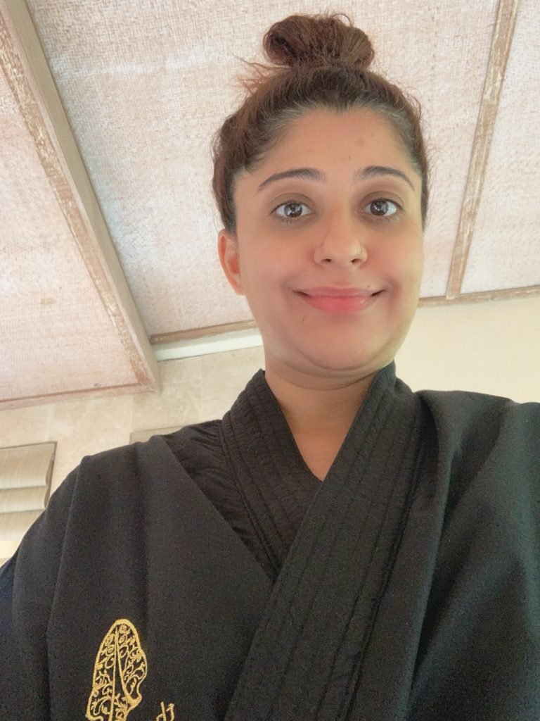 Post one hour Balinese massage bliss!